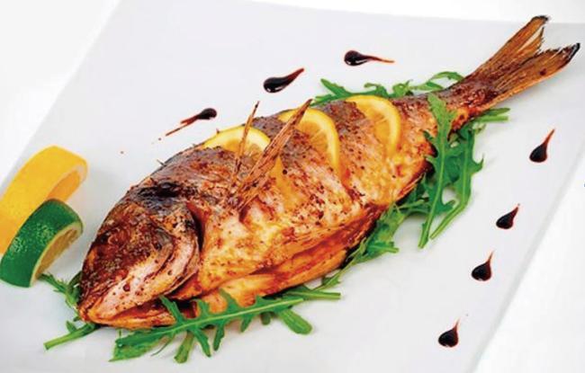 Peixe-Assado-na-Tangerina